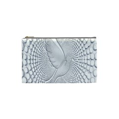 Points Circle Dove Harmony Pattern Cosmetic Bag (Small)