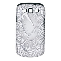 Points Circle Dove Harmony Pattern Samsung Galaxy S Iii Classic Hardshell Case (pc+silicone)