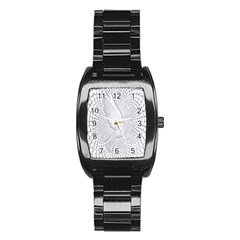 Points Circle Dove Harmony Pattern Stainless Steel Barrel Watch