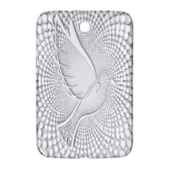 Points Circle Dove Harmony Pattern Samsung Galaxy Note 8.0 N5100 Hardshell Case