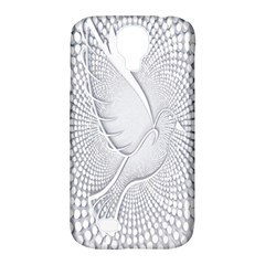 Points Circle Dove Harmony Pattern Samsung Galaxy S4 Classic Hardshell Case (pc+silicone)