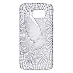 Points Circle Dove Harmony Pattern Galaxy S6