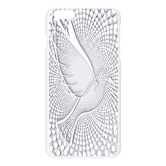Points Circle Dove Harmony Pattern Apple Seamless iPhone 6 Plus/6S Plus Case (Transparent)