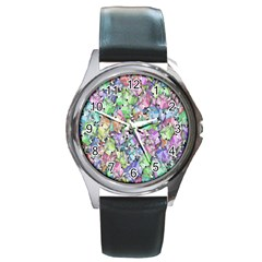 Presents Gifts Christmas Box Round Metal Watch