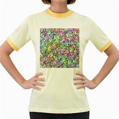 Presents Gifts Christmas Box Women s Fitted Ringer T Shirts
