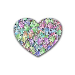 Presents Gifts Christmas Box Heart Coaster (4 Pack)