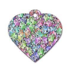 Presents Gifts Christmas Box Dog Tag Heart (two Sides)