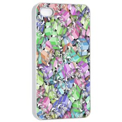 Presents Gifts Christmas Box Apple iPhone 4/4s Seamless Case (White)