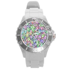 Presents Gifts Christmas Box Round Plastic Sport Watch (l)