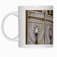 Post Office Old Vintage Building White Mugs