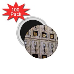 Post Office Old Vintage Building 1 75  Magnets (100 Pack)