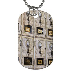 Post Office Old Vintage Building Dog Tag (Two Sides)