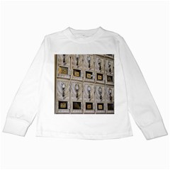 Post Office Old Vintage Building Kids Long Sleeve T Shirts