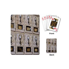 Post Office Old Vintage Building Playing Cards (Mini)