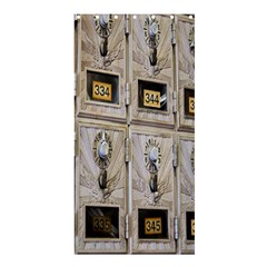 Post Office Old Vintage Building Shower Curtain 36  X 72  (stall)