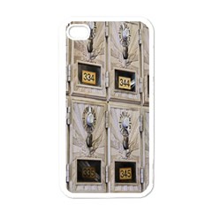 Post Office Old Vintage Building Apple iPhone 4 Case (White)