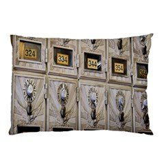 Post Office Old Vintage Building Pillow Case (Two Sides)