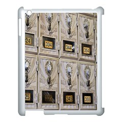 Post Office Old Vintage Building Apple Ipad 3/4 Case (white)