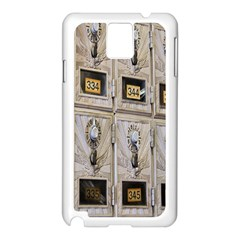 Post Office Old Vintage Building Samsung Galaxy Note 3 N9005 Case (white)