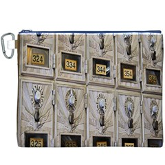 Post Office Old Vintage Building Canvas Cosmetic Bag (xxxl)