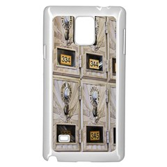 Post Office Old Vintage Building Samsung Galaxy Note 4 Case (White)