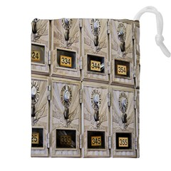 Post Office Old Vintage Building Drawstring Pouches (XXL)