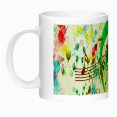 Points Circle Music Pattern Night Luminous Mugs