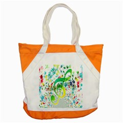 Points Circle Music Pattern Accent Tote Bag