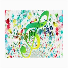 Points Circle Music Pattern Small Glasses Cloth (2 Side)