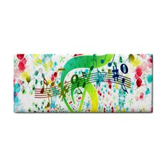 Points Circle Music Pattern Cosmetic Storage Cases