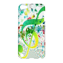 Points Circle Music Pattern Apple iPod Touch 5 Hardshell Case