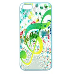 Points Circle Music Pattern Apple Seamless Iphone 5 Case (color)