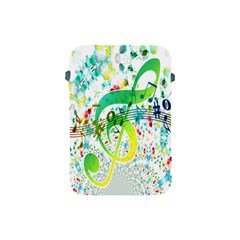 Points Circle Music Pattern Apple Ipad Mini Protective Soft Cases