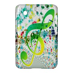 Points Circle Music Pattern Samsung Galaxy Tab 2 (7 ) P3100 Hardshell Case