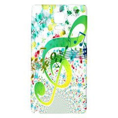 Points Circle Music Pattern Galaxy Note 4 Back Case