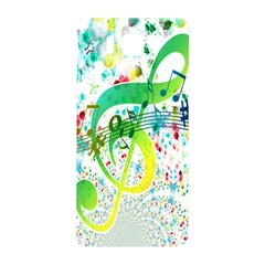 Points Circle Music Pattern Samsung Galaxy Alpha Hardshell Back Case