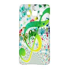 Points Circle Music Pattern Samsung Galaxy A5 Hardshell Case
