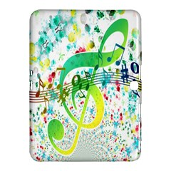 Points Circle Music Pattern Samsung Galaxy Tab 4 (10 1 ) Hardshell Case