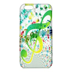 Points Circle Music Pattern iPhone 6/6S TPU Case