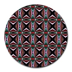 Plot Texture Background Stamping Round Mousepads