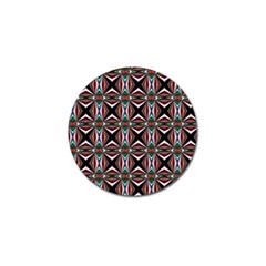 Plot Texture Background Stamping Golf Ball Marker (4 Pack)