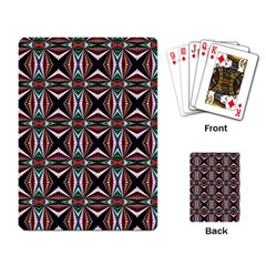 Plot Texture Background Stamping Playing Card