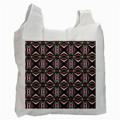 Plot Texture Background Stamping Recycle Bag (One Side)