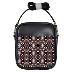 Plot Texture Background Stamping Girls Sling Bags