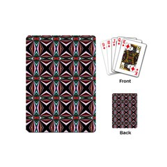 Plot Texture Background Stamping Playing Cards (Mini)