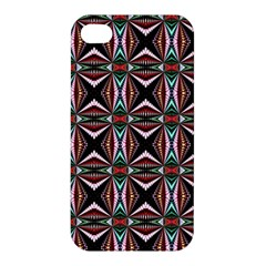 Plot Texture Background Stamping Apple iPhone 4/4S Hardshell Case