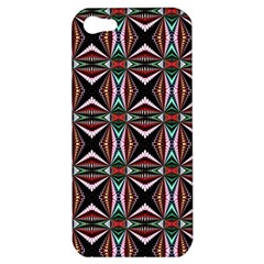 Plot Texture Background Stamping Apple Iphone 5 Hardshell Case