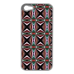 Plot Texture Background Stamping Apple Iphone 5 Case (silver)