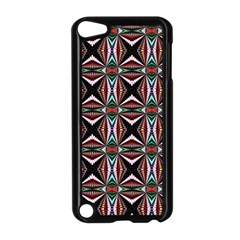 Plot Texture Background Stamping Apple Ipod Touch 5 Case (black)