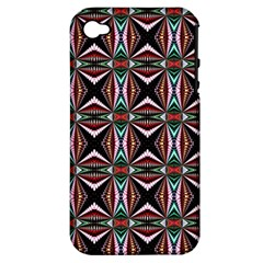 Plot Texture Background Stamping Apple iPhone 4/4S Hardshell Case (PC+Silicone)